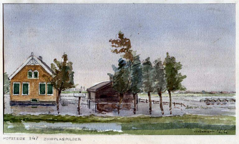 Zuidplas(sengebied) in 1944