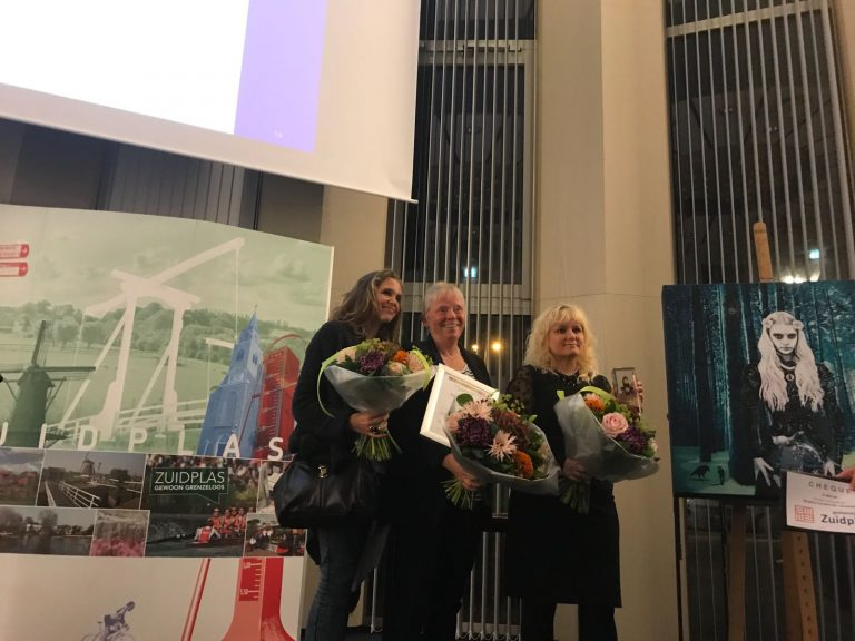 Birgitta Sundström Jansdotter wint Cultuurprijs Gemeente Zuidplas 2017