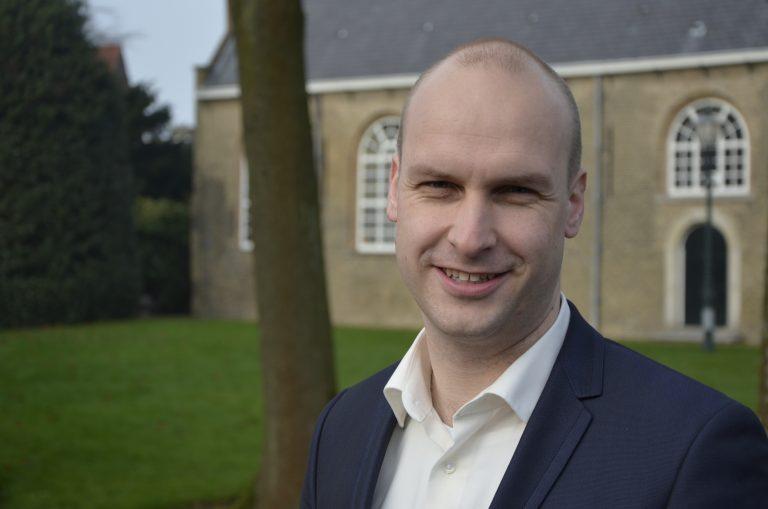 Jan Willem Schuurman lijsttrekker ChristenUnie/SGP bij gemeenteraadsverkiezingen
