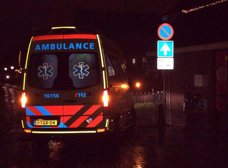 Koerier aangereden in oude dorp Nieuwerkerk
