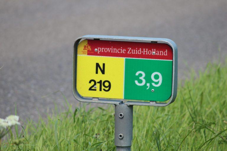 Rotonde N219 bij A20 en Europalaan afgesloten in avonduren