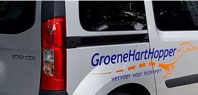 Staking chauffeurs Groene Harthopper