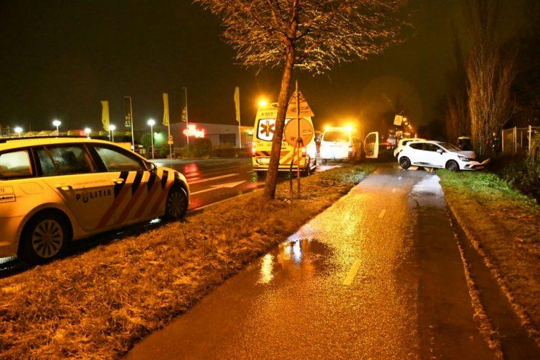 Gewonde na ongeval op Bredeweg bij Intratuin