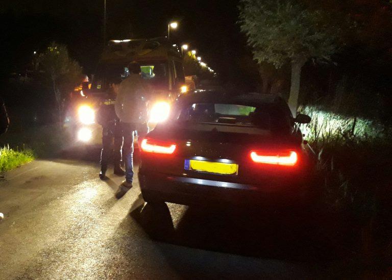 Bestuurder aangehouden tijdens afhandeling ongeval 's-Gravenweg in Nieuwerkerk aan den IJssel