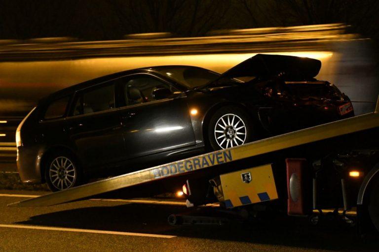 Volvo is weer de sterkste bij ongeval op A20 Moordrecht