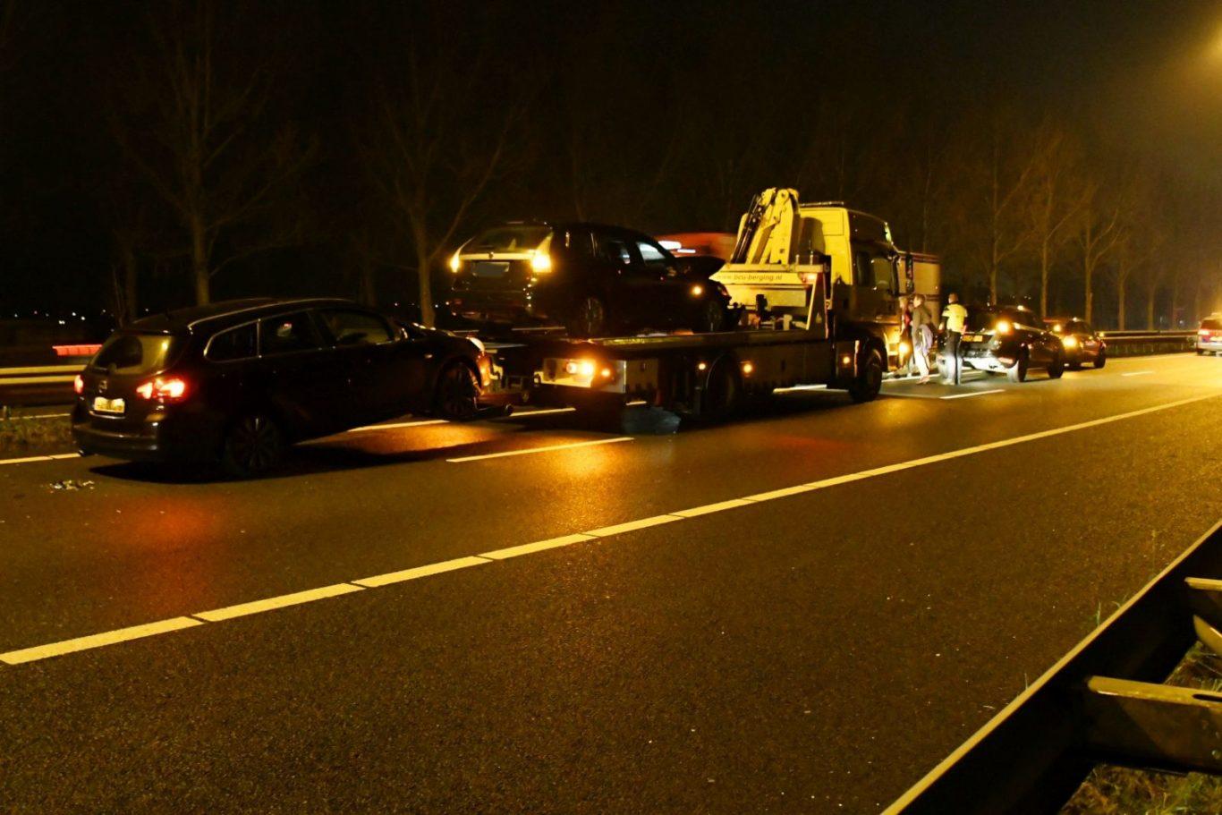 Ongeval A20 Moordrecht