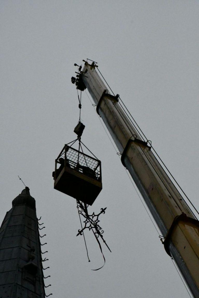 Boktor oorzaak afbreken torenspits Moordrecht