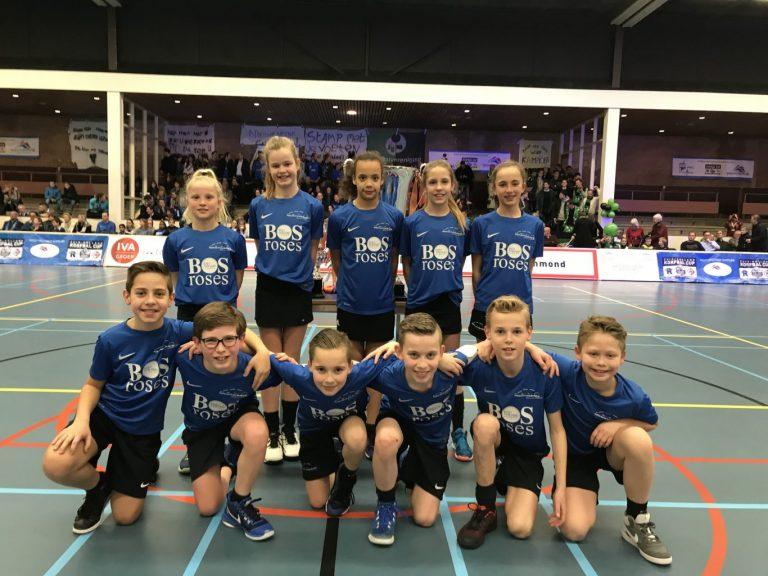 CKV Nieuwerkerk D1 beste korfballers jeugd van Zuid Holland