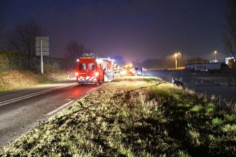 N219 afgesloten tussen Francois viaduct en Kerklaan door ongeluk