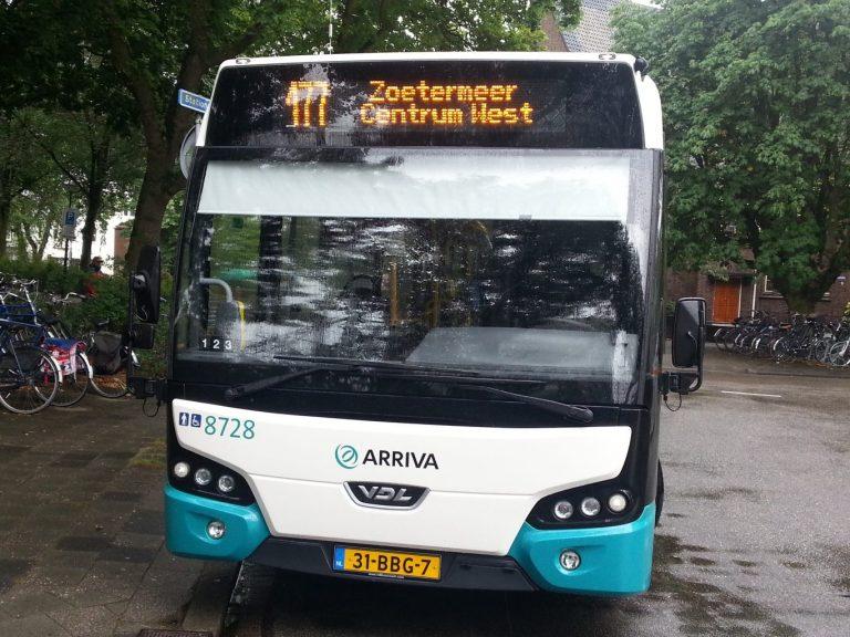 Provincie en Arriva stellen schrappen lijn 177 in Moerkapelle uit