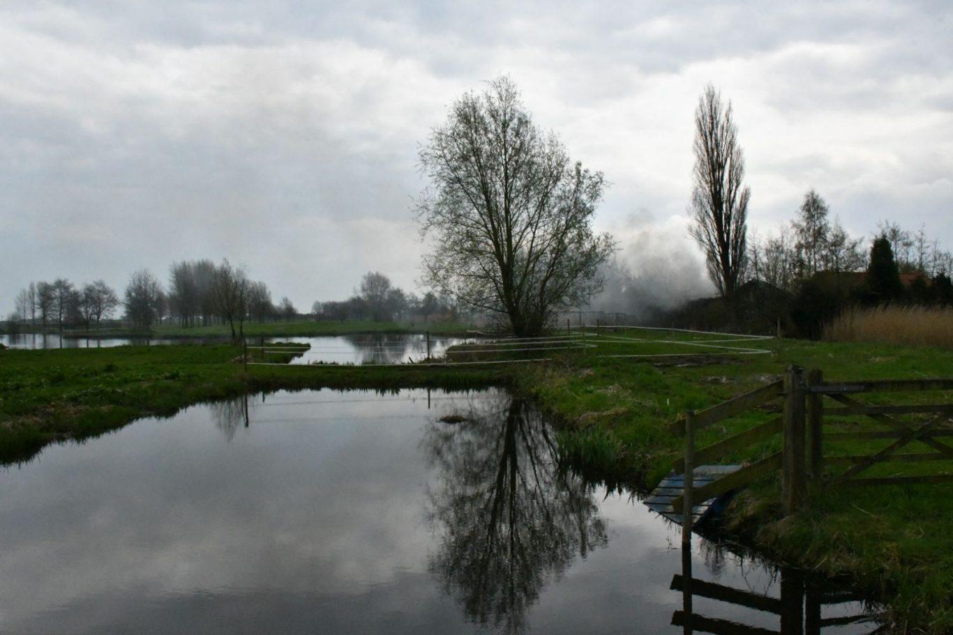 brand 'sGravenweg Nieuwerkerk