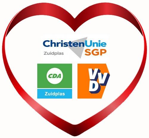 VVD, CU-SGP en CDA gaan samen coalitie in Zuidplas vormen