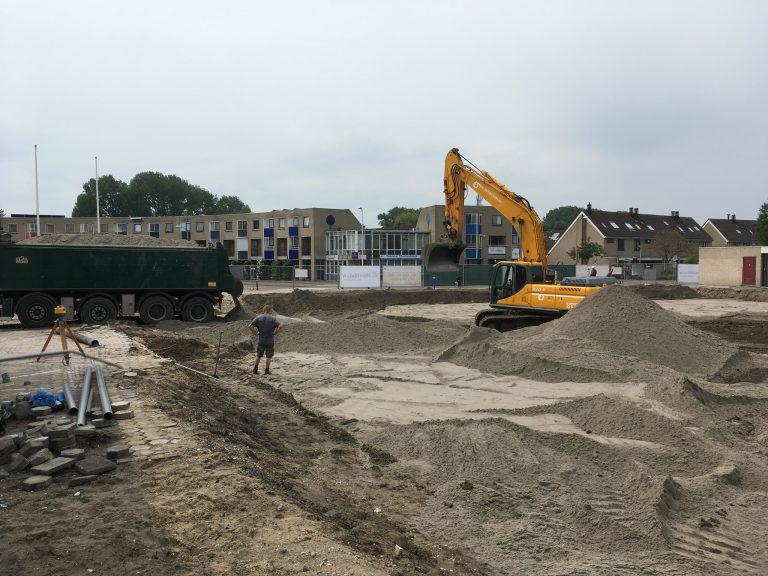 Extra zand erbij – Gemeentehuis