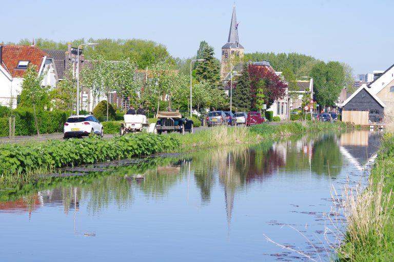 Hollandsche IJsselrit 2018 door het oude dorp van Nieuwerkerk a/d IJssel