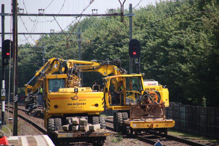 Diverse werkzaamheden aan het spoor aankomende weken