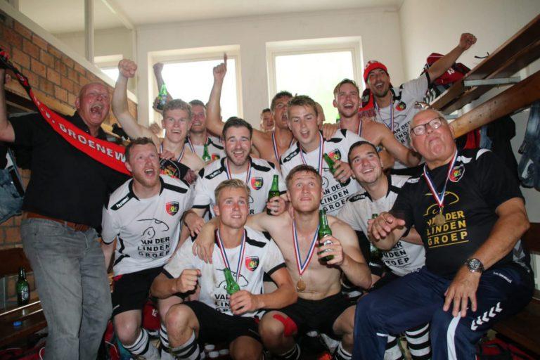 Groeneweg uit Zevenhuizen kampioen tweede klasse D (update met film en foto)