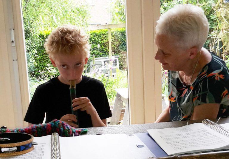 Muziekjuf Corry de Klepper gaat met pensioen