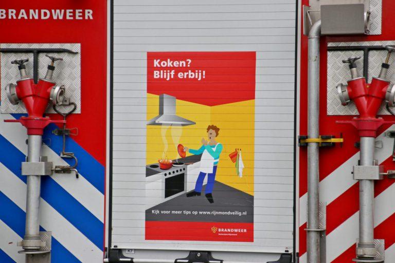 Capelse brandweer haalt Nieuwerkerks pannetje van het vuur
