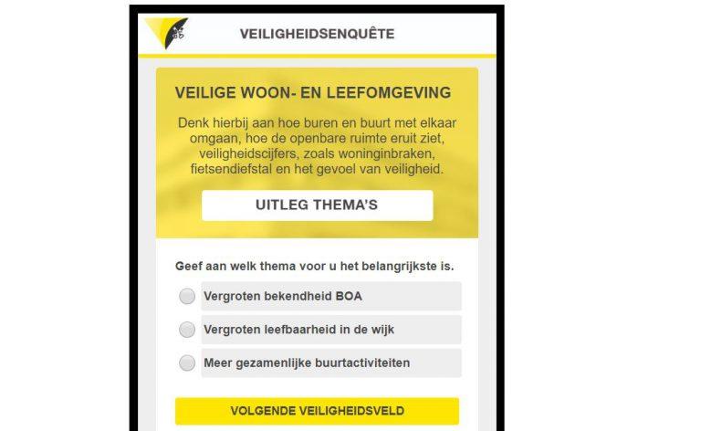 Inwoners mogen meedenken over veiligheid in Waddinxveen