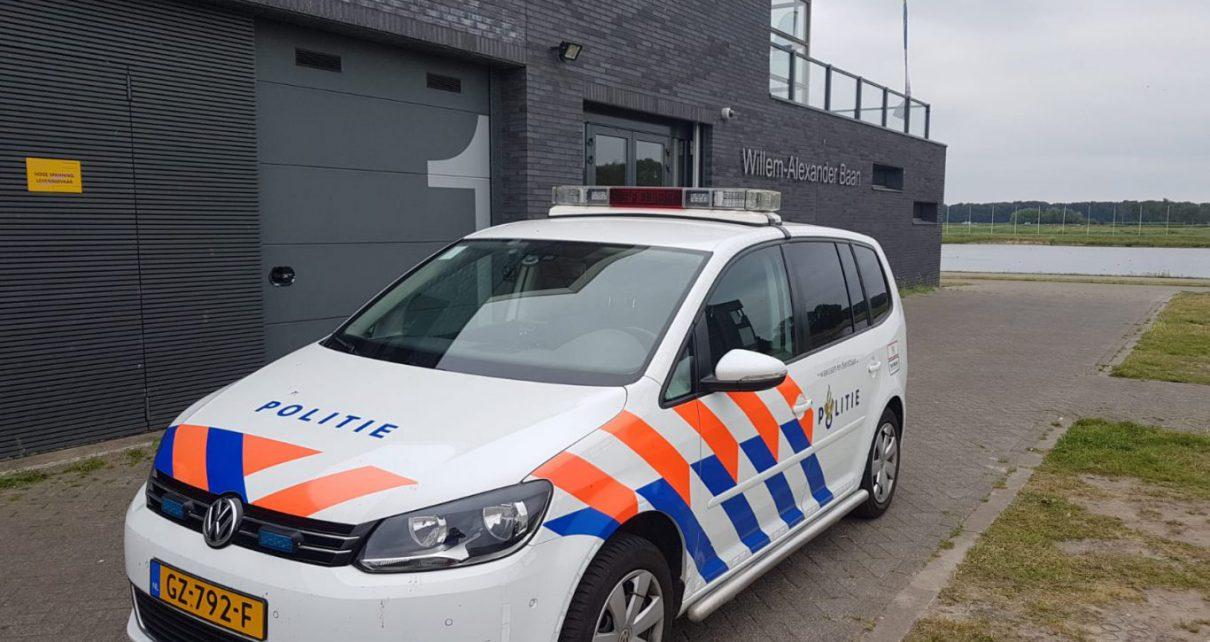 politie ingezonden
