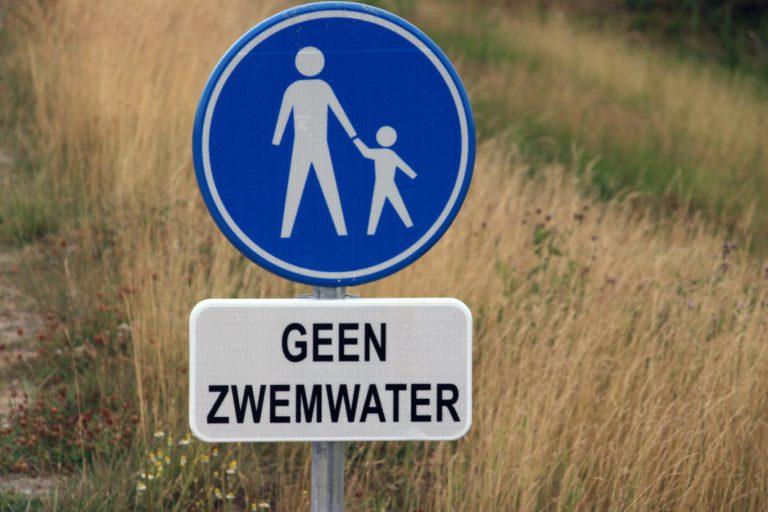water in Hennipgaarde wordt geen officieel zwemwater