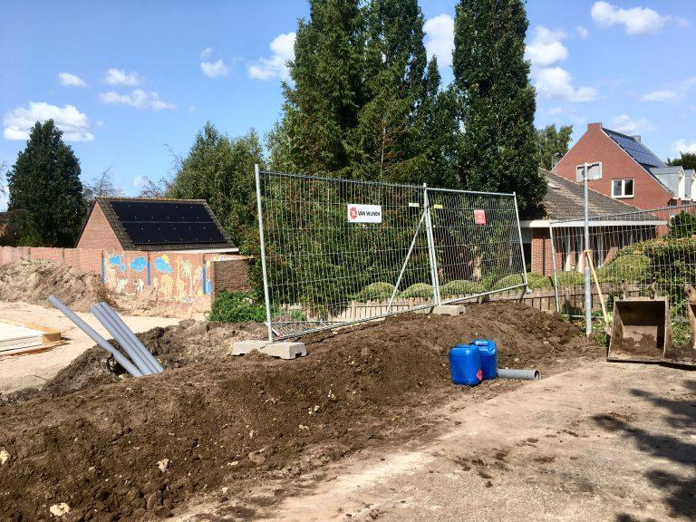 Verstevigen / ophogen van Oost Ringdijk naast bouwterrein