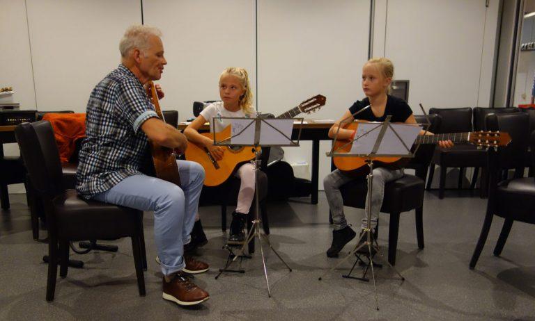 Start cursusjaar Stichting MOZ-Art, muziekonderwijs