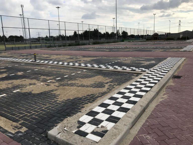 Sportpark Dorrestein gereed voor start competitie na uitbreiding parkeerplaatsen