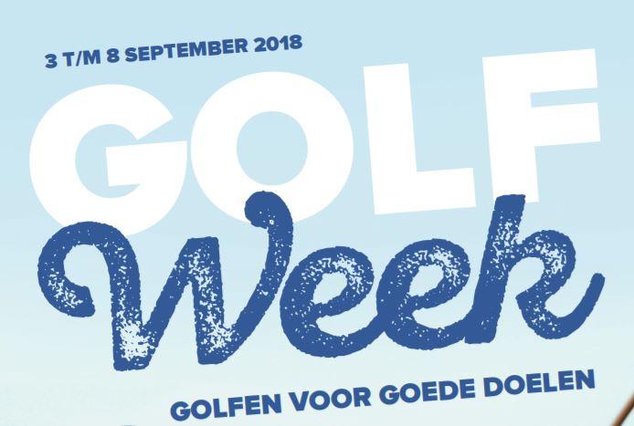 Goede doelen mogen 35.000 euro bijschrijven door golfweek Hitland.