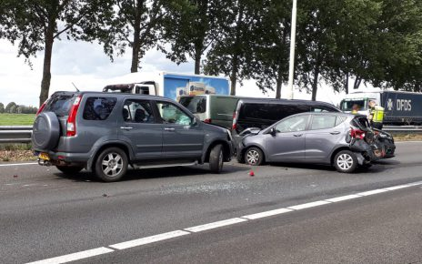 ongeval a20 24 augustus 2018