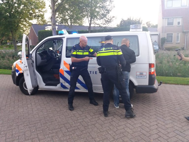 """""""aanhouding"""" tijdens casus met spel Boef in de wijk in Zevenhuizen"""