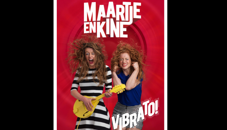 Maartje & Kine in theater Swanla met popcomedy