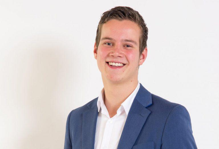 Willem-Jan Verdoes (CU/SGP) : van druk studeren en raad naar bijna niets in de agenda
