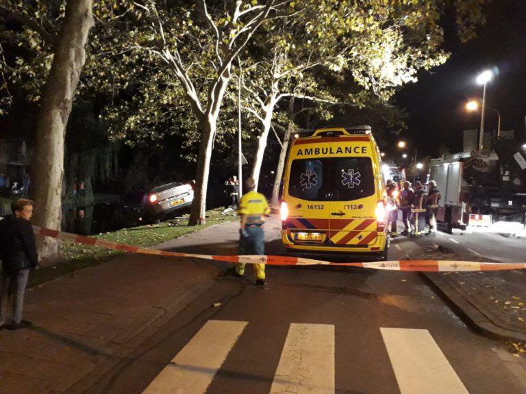 Ravage en gewonden bij aanrijding Plaswijckweg/Gildenburg Gouda
