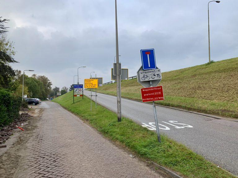 Middelweg open, op naar afsluiting delen van Oosteinde