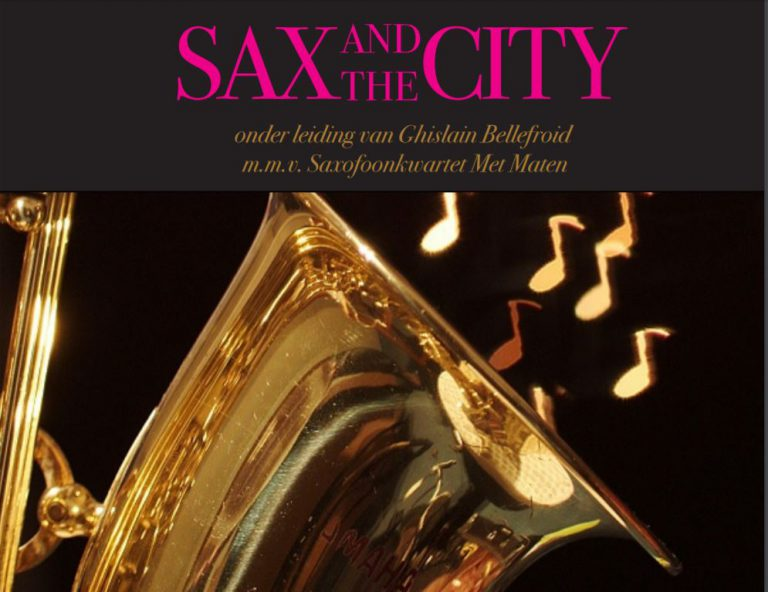 Sax and the City in St. Josephkerk