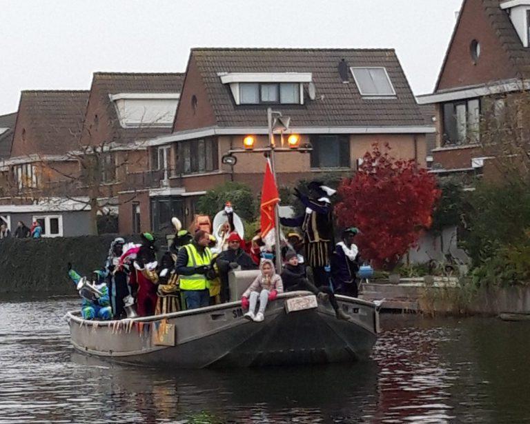 Sinterklaas gastvrij ontvangen in de Zuidplas dorpen