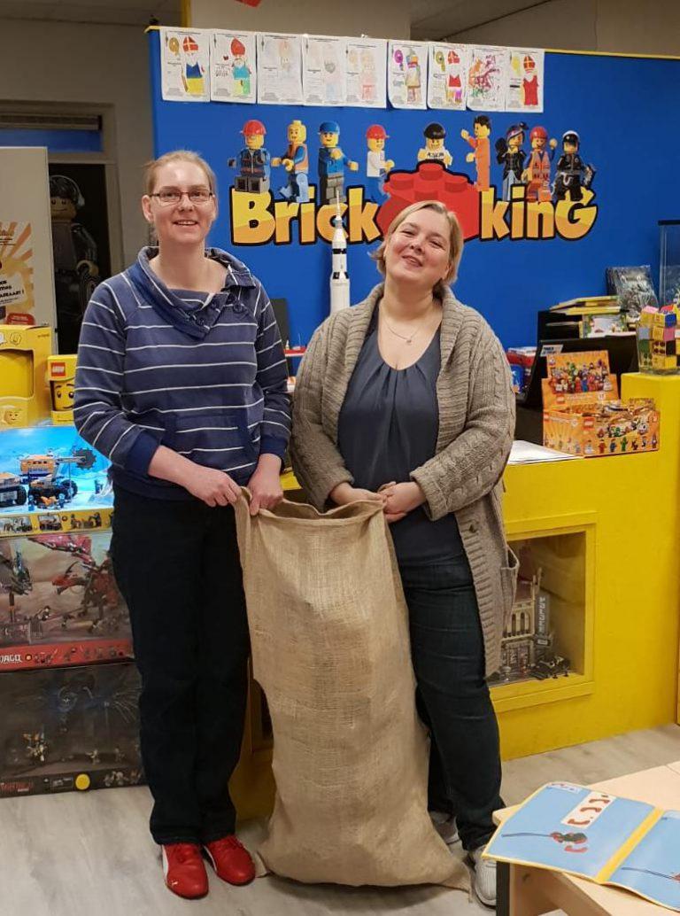 Sinterklaasactie CJG en Cupcake voor Kids massaal gesteund door bedrijven en inwoners!