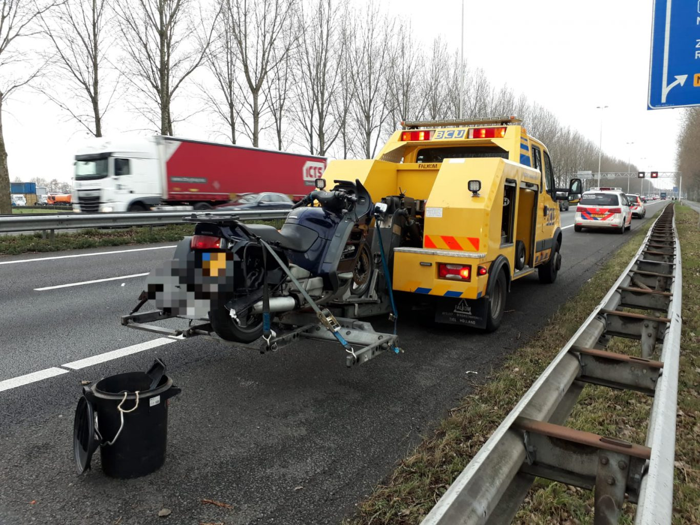 ongeval a20 motor