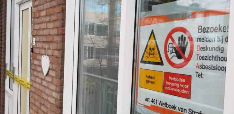 Bewoners Ingenieur Leemanstraat ongerust over asbest in woningen
