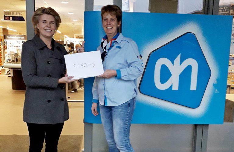 Statiegeld donatie voor en brunch in wijkservicecentrum De Kroon