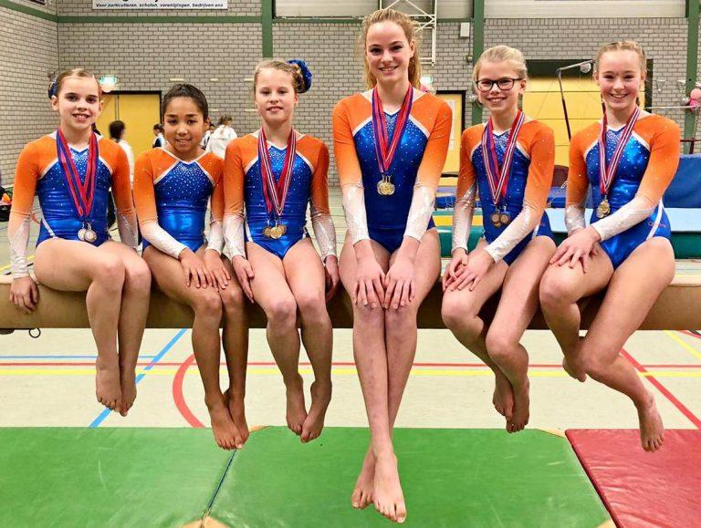 Zuidplas sportweekeinde : CKV Nieuwerkerk en ZVH stunten – medailleregen NGV