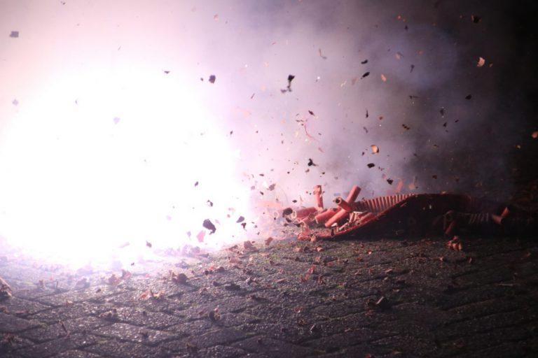 214 kilo illegaal vuurwerk gevonden in Moerkapelle