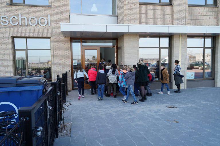 Rehoboth leerlingen gaan sfeer proeven in hun nieuw brede schoolgebouw