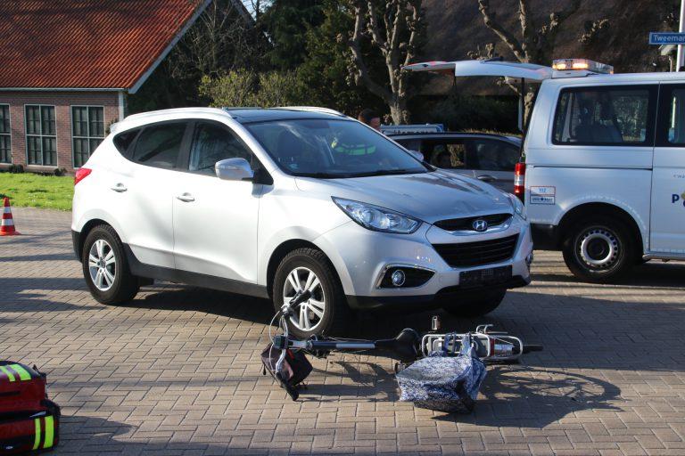 Fietser gewond bij aanrijding in Zevenhuizen