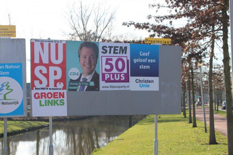 Slechts één kandidaat uit Zuidplas op verkiesbare plek verkiezingen Provincie Staten