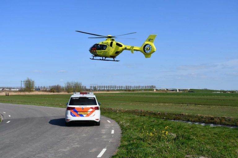 Wielrenner zwaargewond door valpartij Zuidelijk Dwarsweg Zevenhuizen