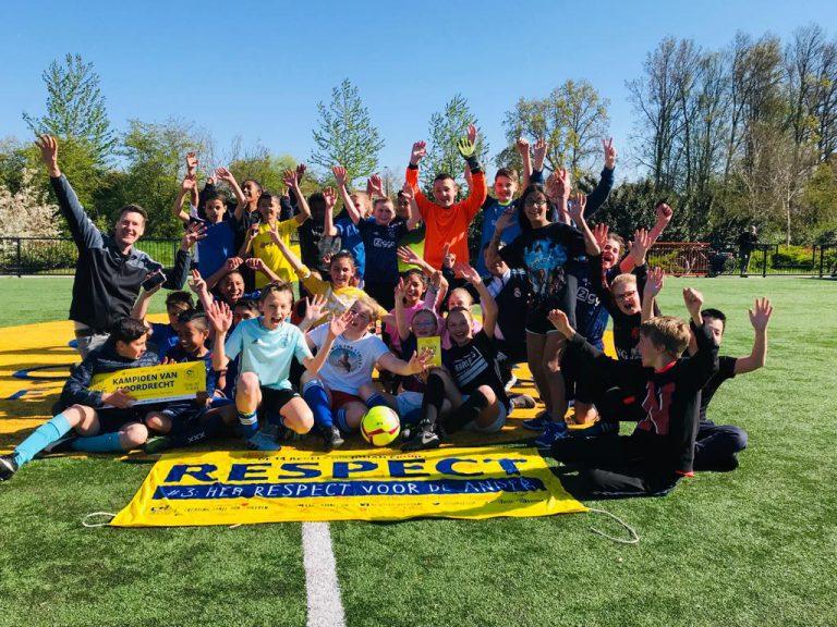 Respect centraal bij 6 tegen 6 voetbaltoernooi in Moordrecht