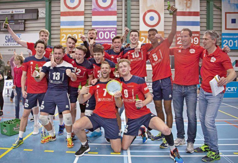 CAS-CRM/ZVH kampioen in Topdivisie volleybal