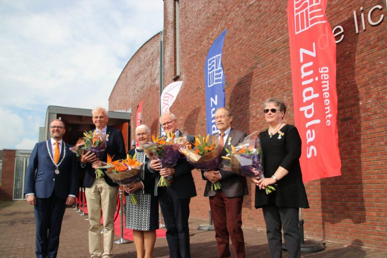 Vijf Koninklijke Onderscheidingen in de gemeente Zuidplas